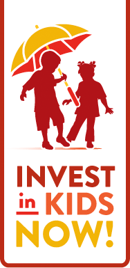 Invest in Kids NOW! Logo